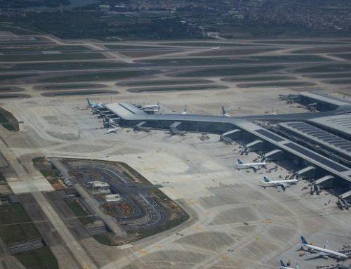 Guangzhou Baiyun (naar eigen zeggen) nu 's werelds drukste luchthaven